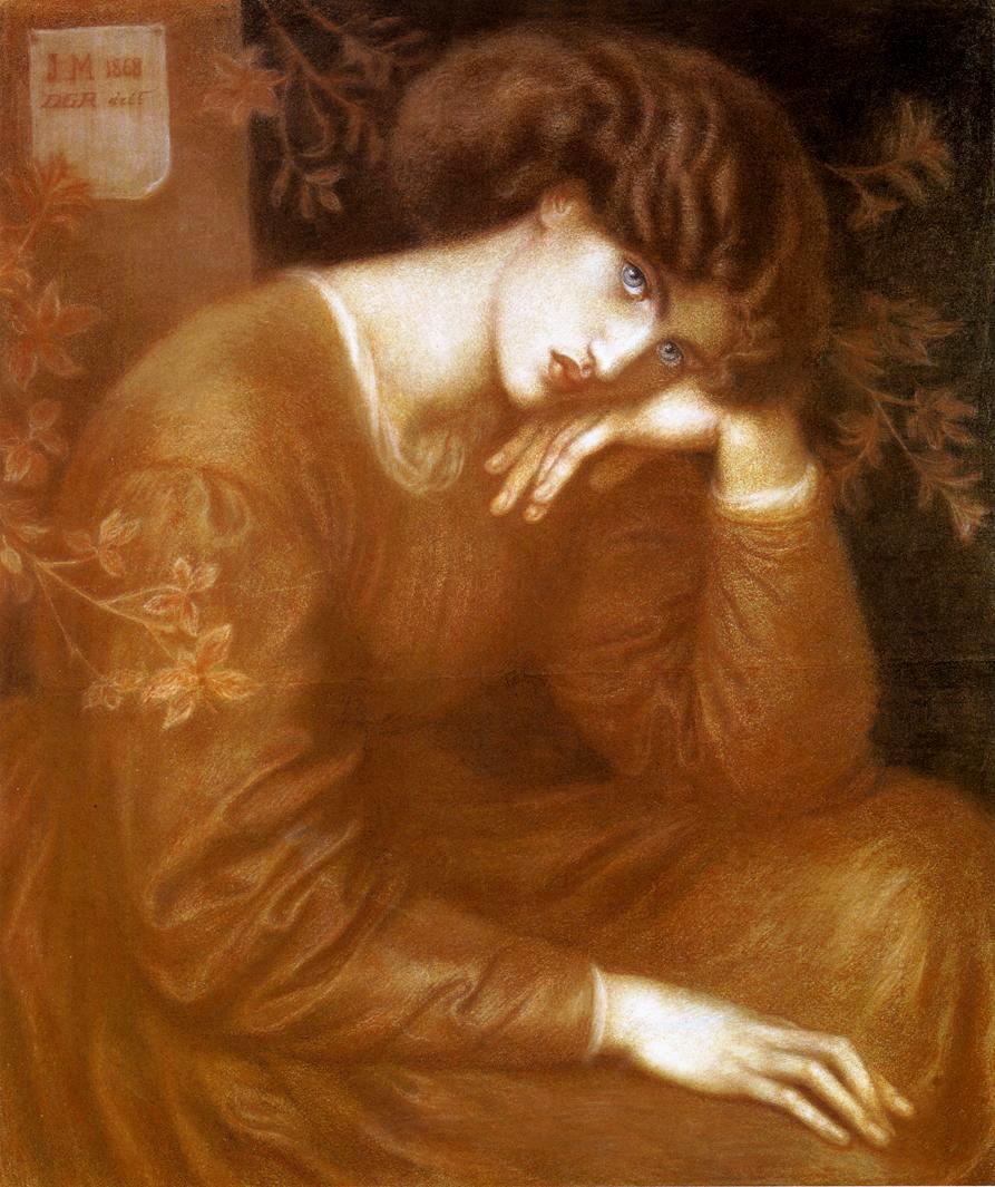 Reverie by Dante Gabriel Rossetti - 1868