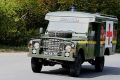 LAND ROVER RAF AMBULANCE DKX47X