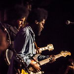 Tue, 05/04/2016 - 11:41am - Michael Kiwanuka performs for WFUV Radio at the Cutting Room in New York City, April 3, 2016. Hosted by Rita Houston. Photo by Gus Philippas