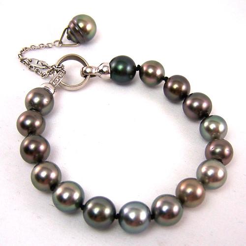 Marina's Tahitian Pearl Bracelet