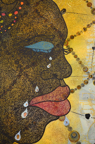 Chris Ofili - No Woman, No Cry
