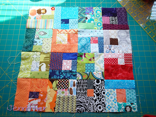 Sunday Morning Quilt Bee My block