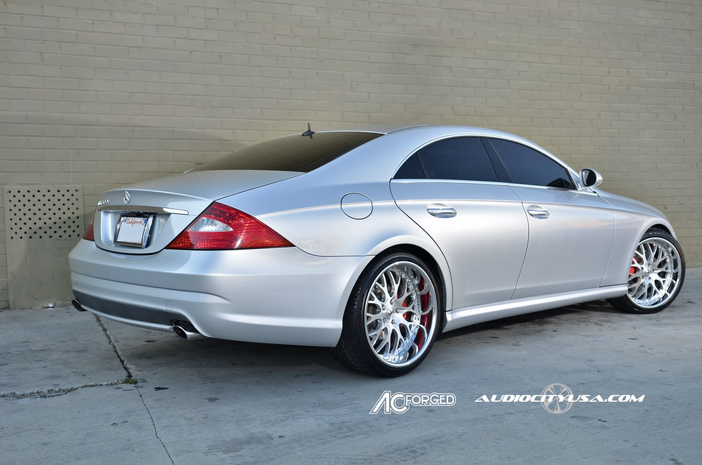 20 Quot Ac Forged Ac 313 Brush Face Chrome Lip On Mercedes