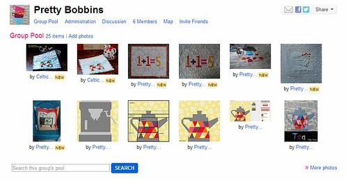 pretty bobbins flickr group