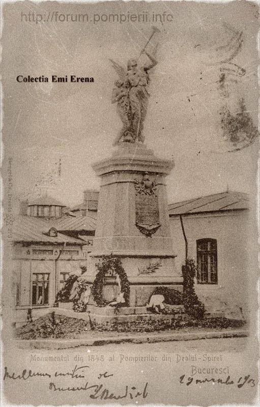 Monumentul pompierilor aprox 1900