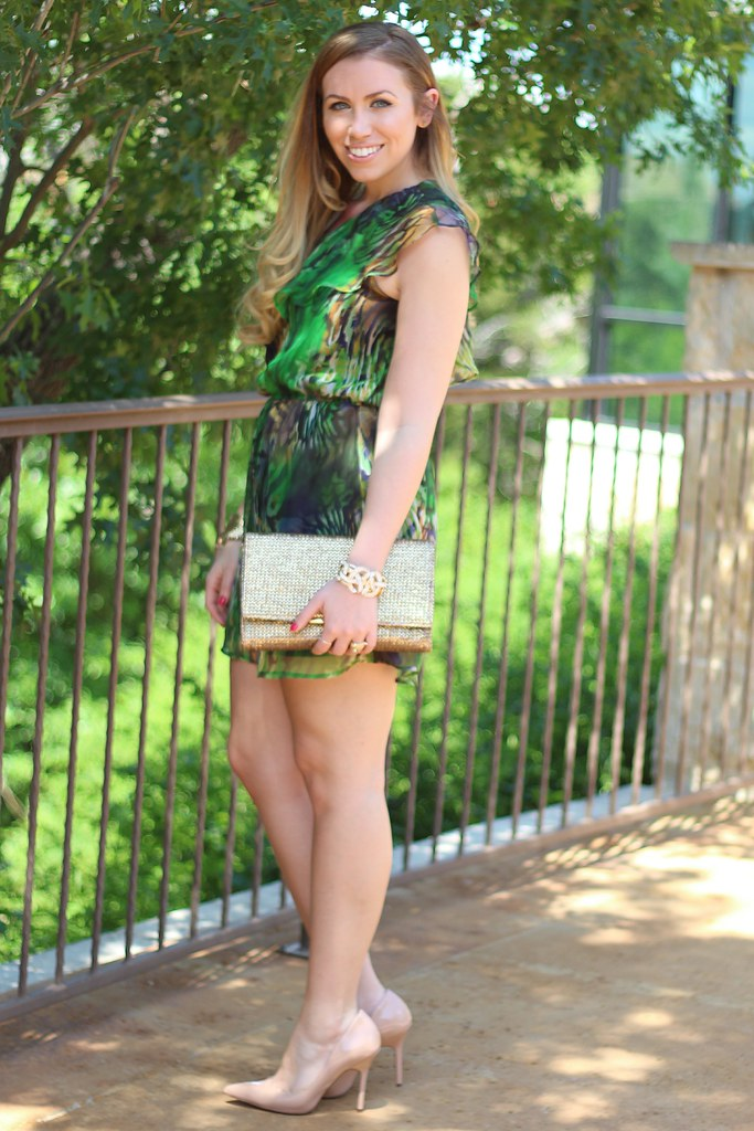 Living After Midnite: Green Prints at Spring Weddings