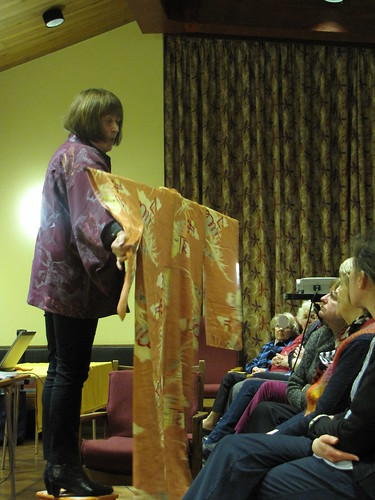Birmingham Embroiderers' Guild Opening The Kimono April 2013 (2)