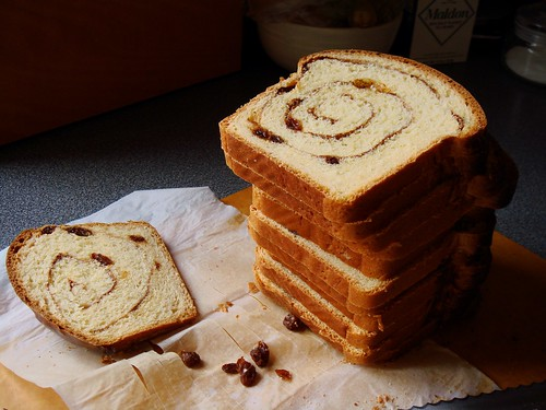 Cinnamon Swirl Loaf with Rum Raisins