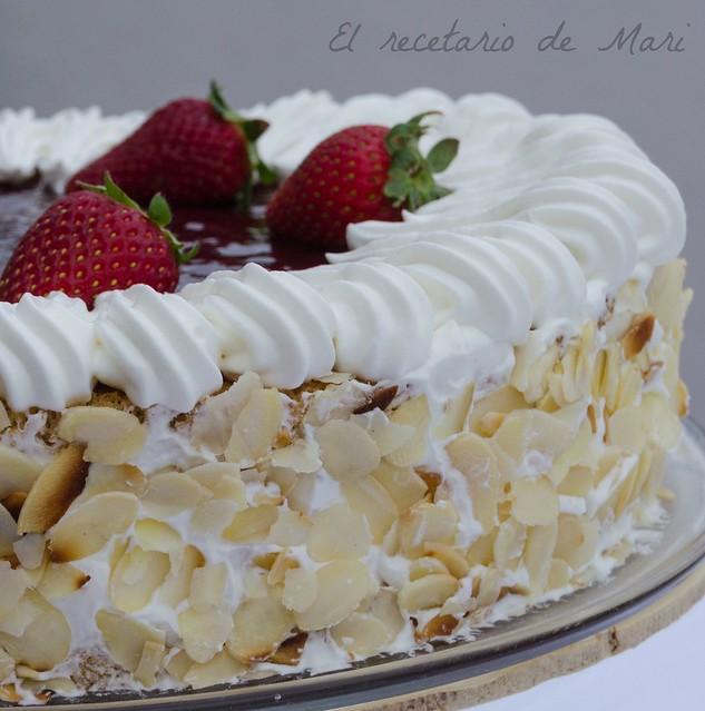 tarta de nata con fresas (2)