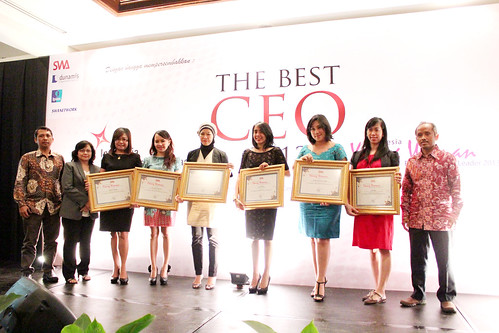 Indonesia Young Women Future Leader 2013: Foto pemenang.