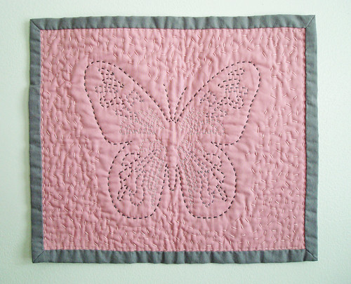 Butterfly Mini Quilt by ALittleWorld