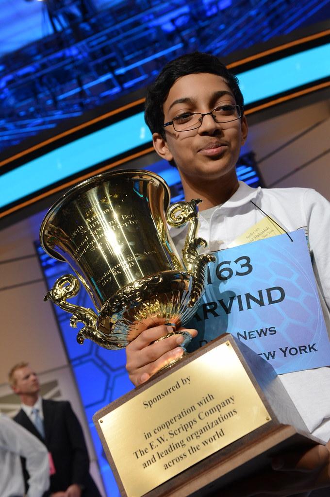Arvind Mahankali : 2013 Spelling Bee Champion