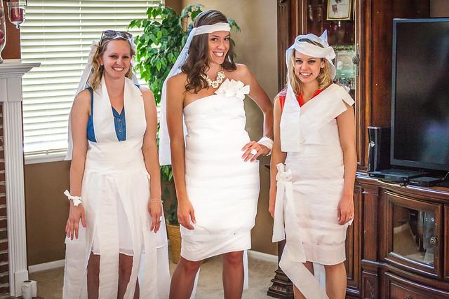Toilet Paper Brides by Rich Aten