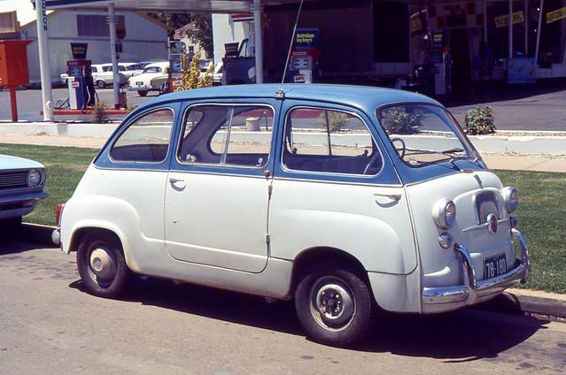 Fiat 600 Multipla, Canberra, Australia, 1968