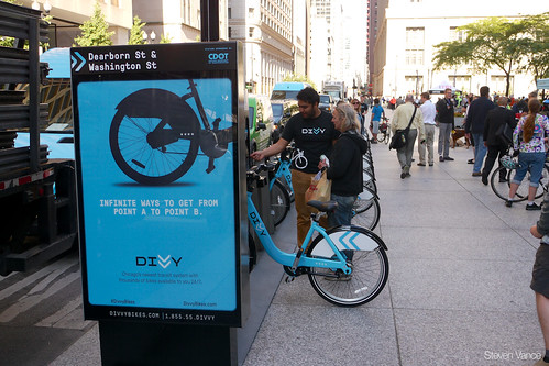 Divvy Bikes In Chicago Divvy bike sharing at Bike to