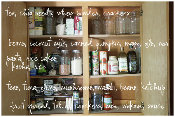 pantry organization  the creative salad