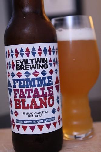 Evil win Brewing Femme Fatale Blanc
