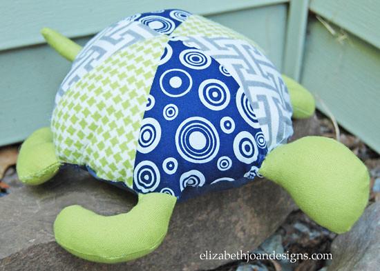Plush Turtle 12