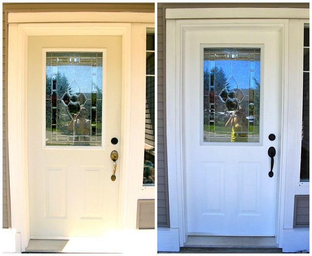 Front Door Before & After