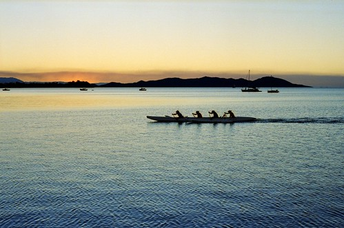 Sculling by Dusk