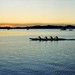 Sculling by Dusk by Unbendable Girder