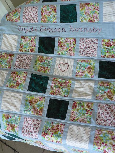 A's quilt 1