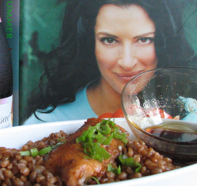 Salmon with pomegranate molasses and honey. IMG_1140 ...