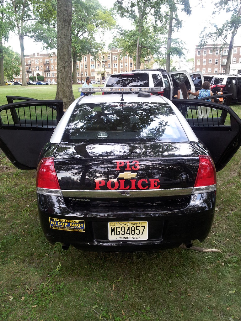 Elizabeth (NJ) Police Updated Patrol Cars- Chevy Caprice
