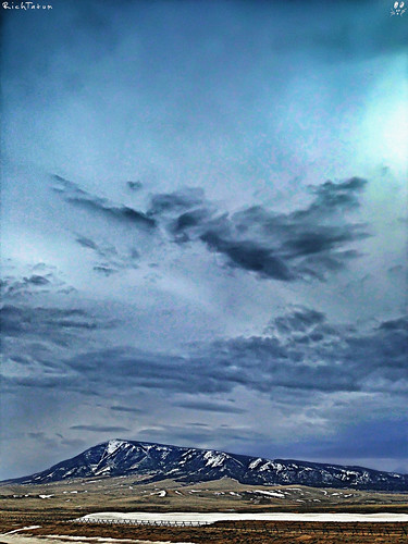 blue mountain nature weather unitedstates country hill rich scenic wyoming laramie elkmountain iphone tatum merica medicinebow blogrodent richtatum iphoneography