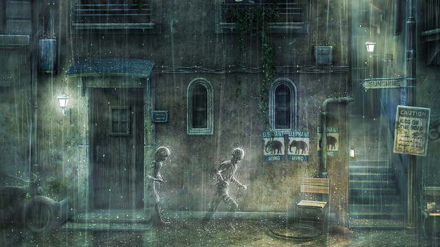 Rain Static Theme
