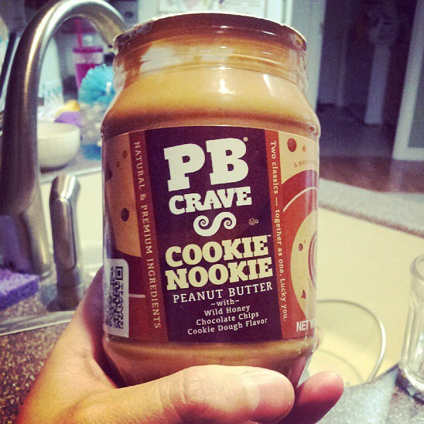 And now that my drink is out of the way, I'm going to treat myself to this, which is basically heaven in a jar.