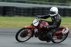 AHRMA historic motorcycle racing at NJMP, August 2013