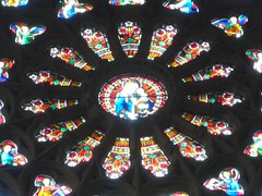 symmetry, glass, circle, stained glass,