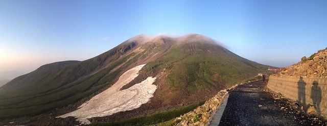 乗鞍岳 遠景