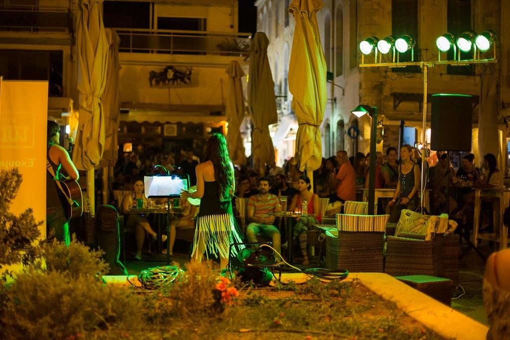 Nightlife in Rethymno