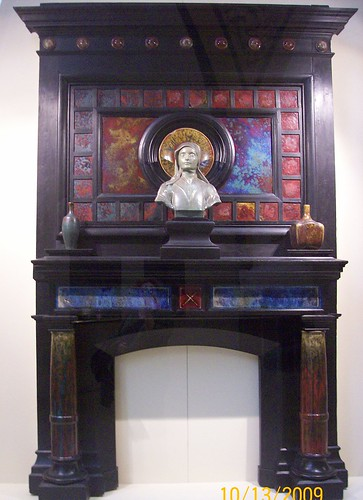 musee d'orsay - art nouveau fireplace