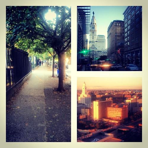 I've walked all over city center #Philadelphia. I really like it here! #rnrphilly