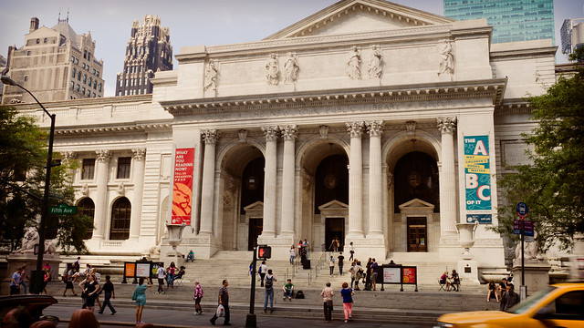 New York Public Library at 42nd Street