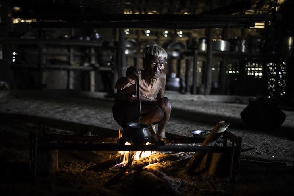 the last head hunters, konyak tribe warrior, nagaland