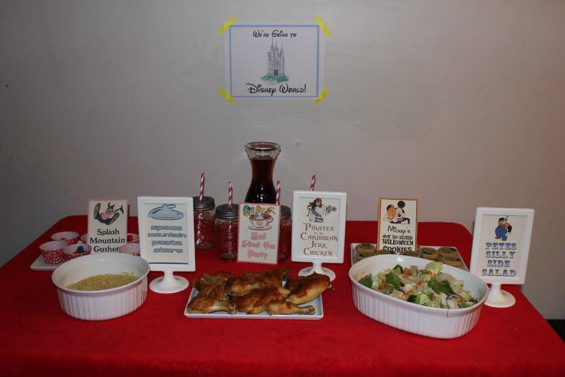 disney world dinner