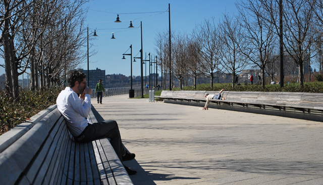Hudson River Park at Pier 64 (24th street and 12th avenue)