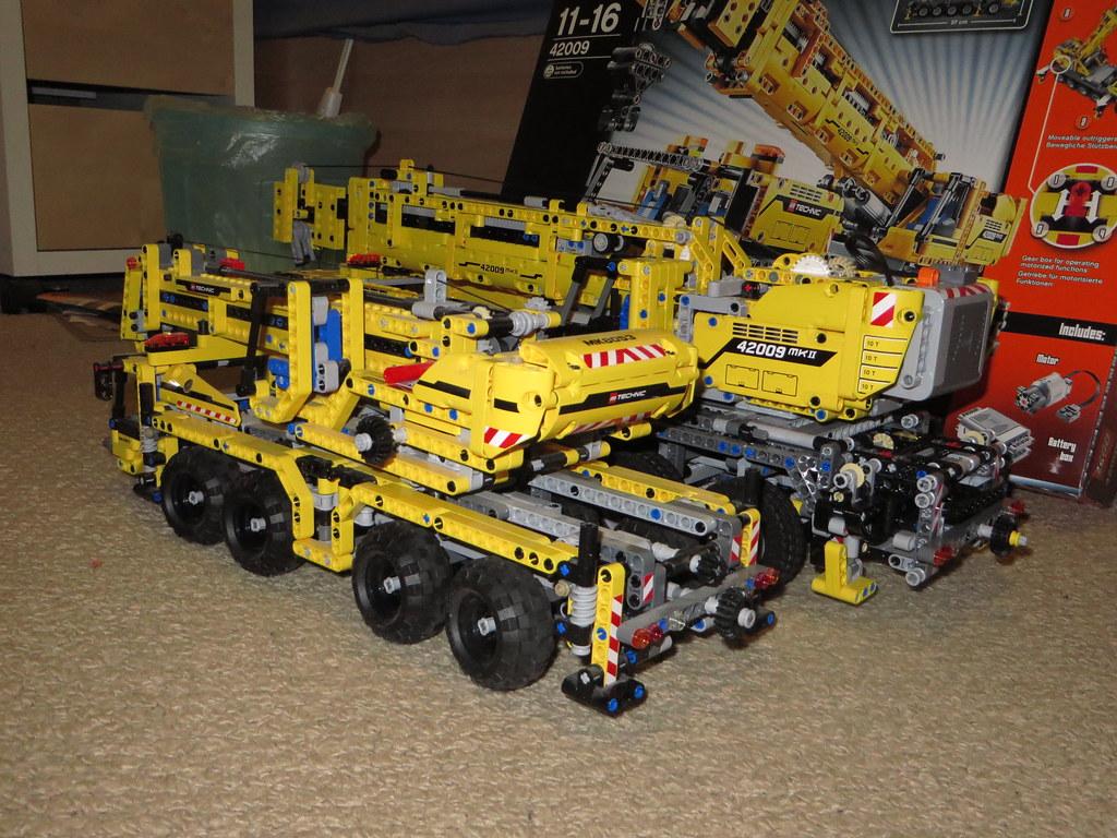 All Sizes Lego Technic 42009 Mobile Crane Mkii Flickr Photo