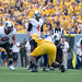 West Virginia Mountaineers vs Oklahoma State Cowboys, Saturday, September 28, 2013, Milan Puskar Stadium, Morgantown, WV