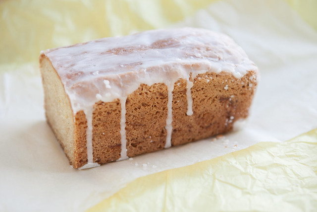 Recipe for delicious and extra moist Lemon Glaze Zucchini Bread! It uses 2 cups of raw grated zucchini!