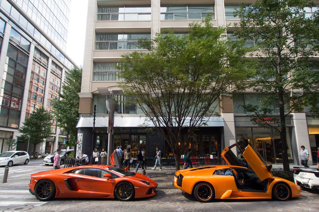 Lamborghini Murcielago and Aventador 2013/09/29 OMD90481