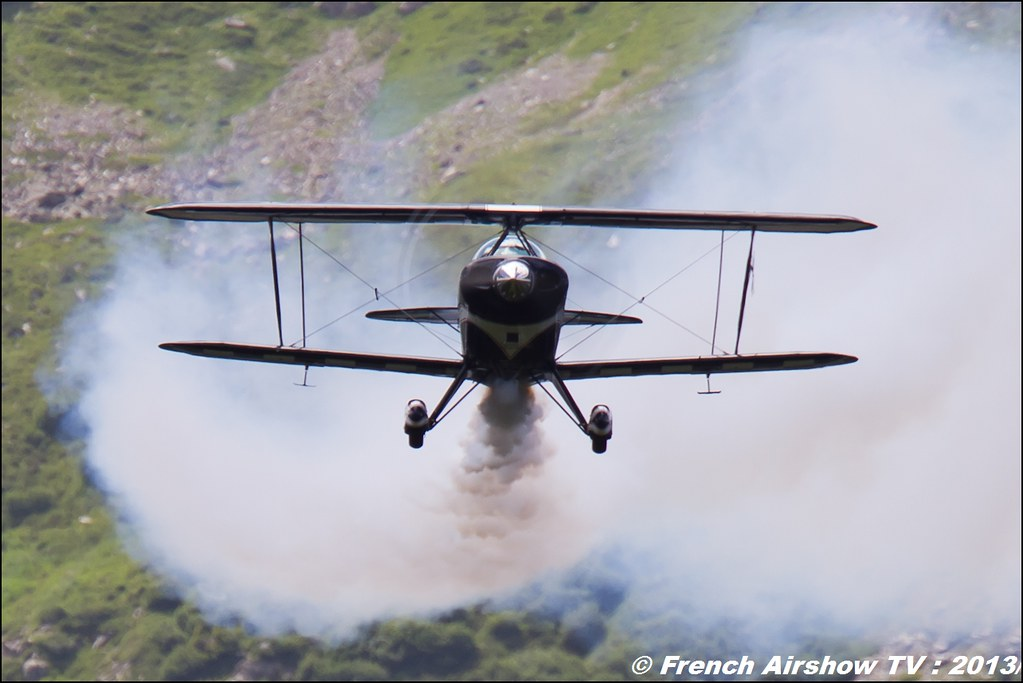 Pitts F-HBOB , Meribel Air Show 2013