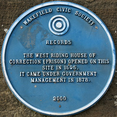 Photo of West Riding House of Correction blue plaque