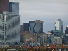 Distant Toronto skyline, viewed from the Port Lands, 2013 10 05 (17)