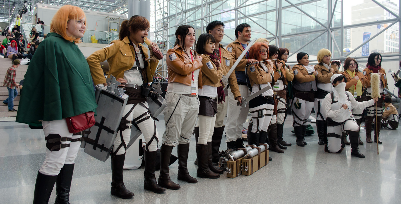 NYCC 2013 Attack on Titan Cosplay