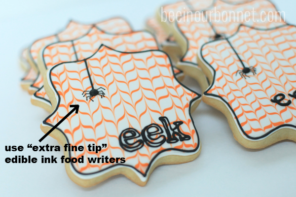 itsy bitsy spider cookies 2